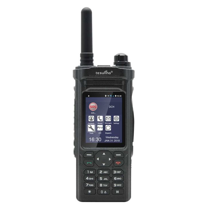 Android PTT WIFI WCDMA Radio Tesunho TH-588
