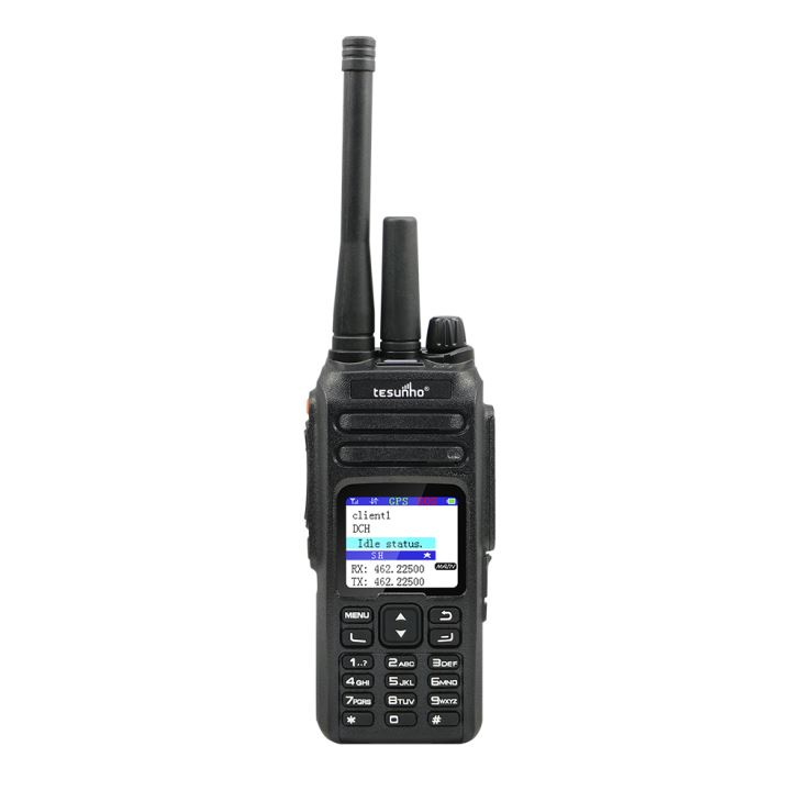 Tesunho analógico y WCDMA Walkie Talkie Radio de red pública IP
